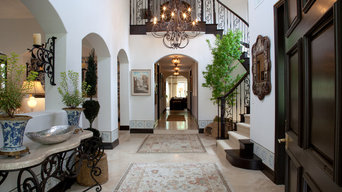 Entry Foyer for Vicki Gunvalson of the RHOC