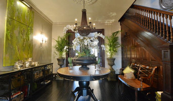 Entry Foyer  to  Victorian Townhouse