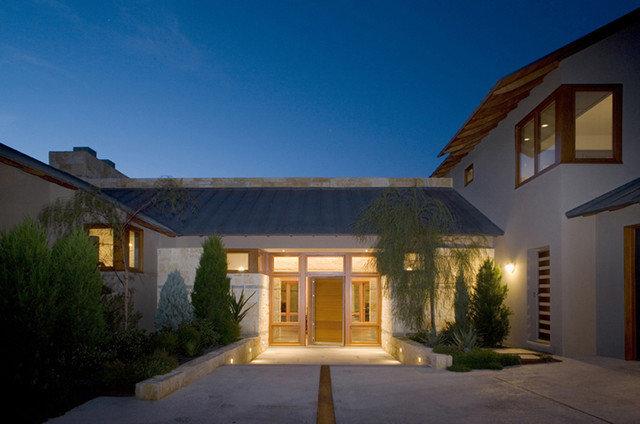Modern Entry by Furman + Keil Architects