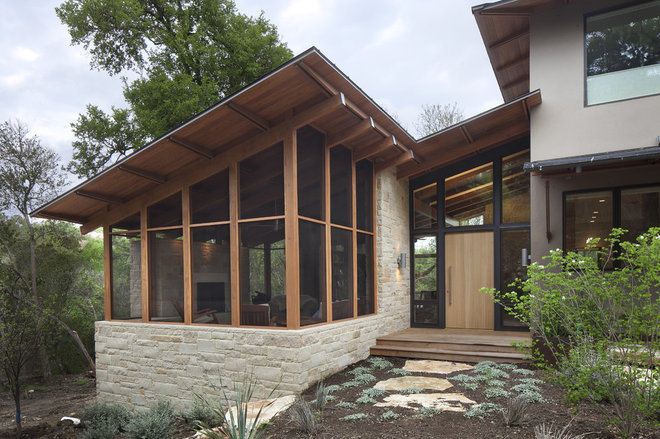 Contemporary Entry by Furman + Keil Architects