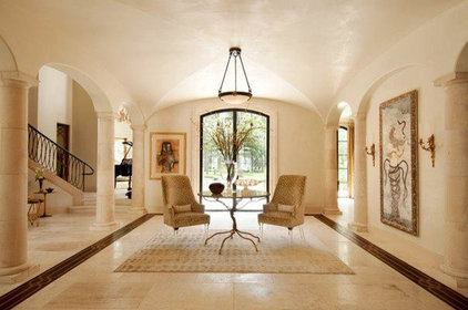 Contemporary Entry by GOODCHILD BUILDERS INC