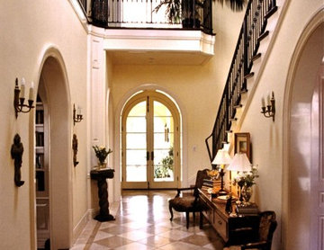 Entry Hall, Landing & Stairway