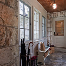 Rustic Entry by Giambastiani Design