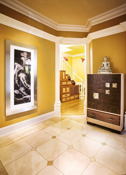 Contemporary Entry by Adeeni Design Group