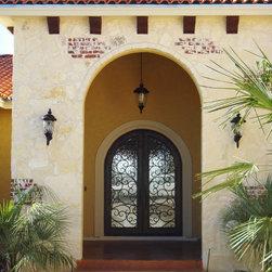 Entry Iron Door -