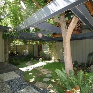 entry Japanese garden