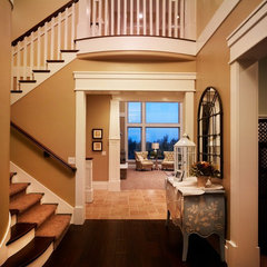 traditional entry by Joe Carrick Design - Custom Home Design