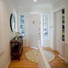Traditional Entry by Jill Seidner Interior Design
