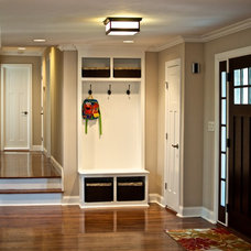Contemporary Entry by Kare Construction