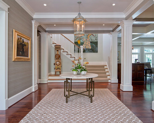 Houzz Large Foyer : Pillar home design ideas pictures remodel and decor