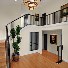 Transitional Entry by Logan's Hammer Building & Renovation