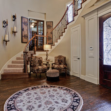 Traditional Entry by Lori Rourk Interiors Inc.