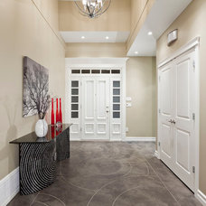 contemporary entry by My House Design Build Team