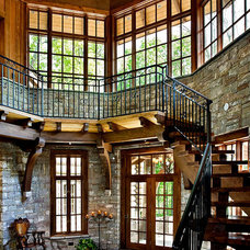Eclectic Entry by Norris Architecture