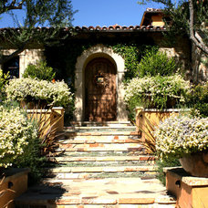 Mediterranean Entry by Pacific Stone Design Inc