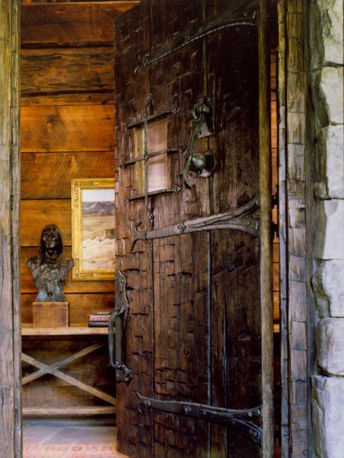 Castle Doors Houzz