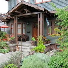 Traditional Porch by Tim Andersen Architect
