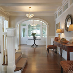 traditional entry by Rachel Reider Interiors