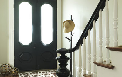 Grand Entry Elements: Newel Posts Past and Present