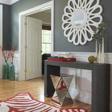 Transitional Entry by Rachel Reider Interiors