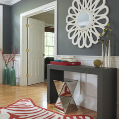 contemporary entry by Rachel Reider Interiors