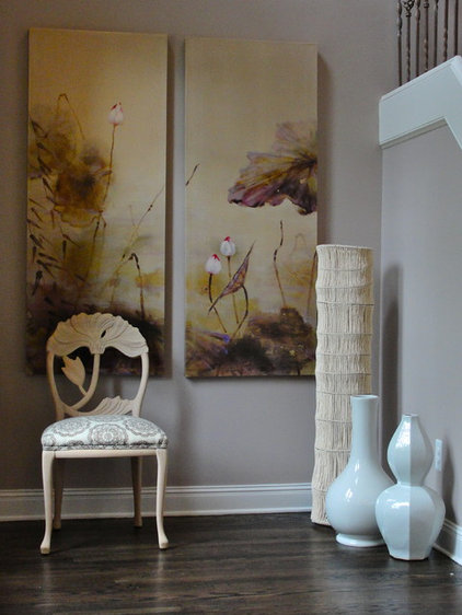 asian entry by Rebekkah Davies Interiors + Design