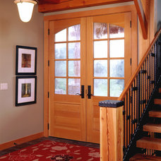 Traditional Entry by Renae Keller Interior Design, Inc.