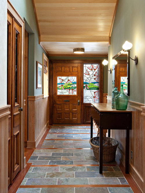 Houzz Foyer Tile : Tile entryway houzz