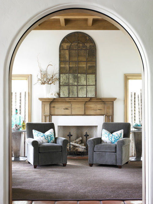 Mirror Over Fireplace Mantel Ideas, Pictures, Remodel and Decor