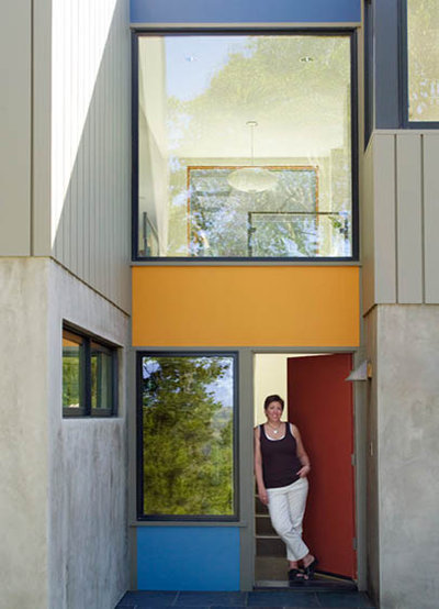 Modern Entry entry stair