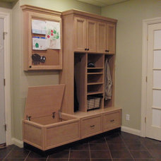 Traditional Entry by Rylex Custom Cabinetry and Closets