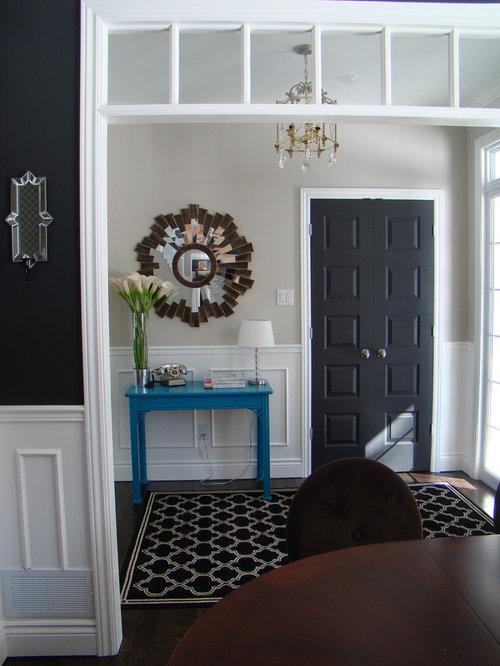 Black Interior Doors | Houzz