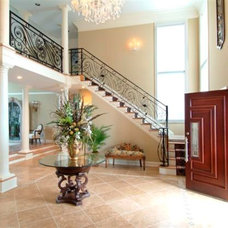 Traditional Entry by Joy of Living Creative Interiors, Inc.
