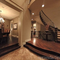 entry by Veranda Estate Homes & Interiors