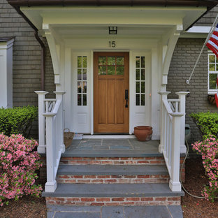 Entry Walkway and Portico