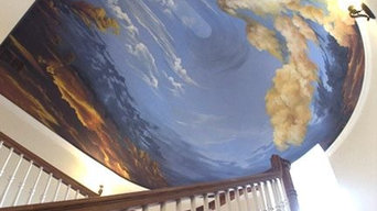 Entry way ceiling