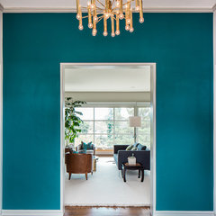 contemporary entry by Cheryl Burke Interior Design
