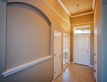 Entry Way with Glass Doors