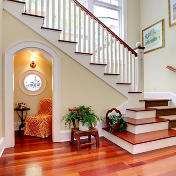 Entry Way with phone nook