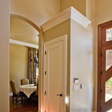 entry with glass front door installation by Bay Area contractor