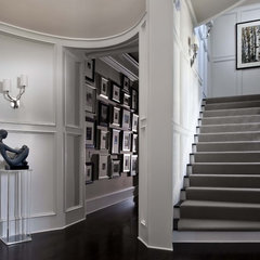 eclectic entry by Wolfe Rizor Interiors