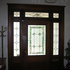 Traditional Entry by SGO Designer Glass of Columbus