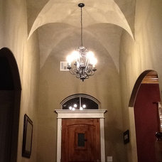 Traditional Entry by Capital Homes OKC