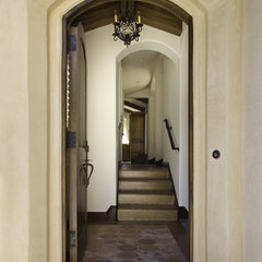 mediterranean hall by Claudio Ortiz Design Group, Inc.