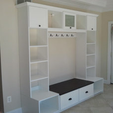 Traditional Entry by California Closets