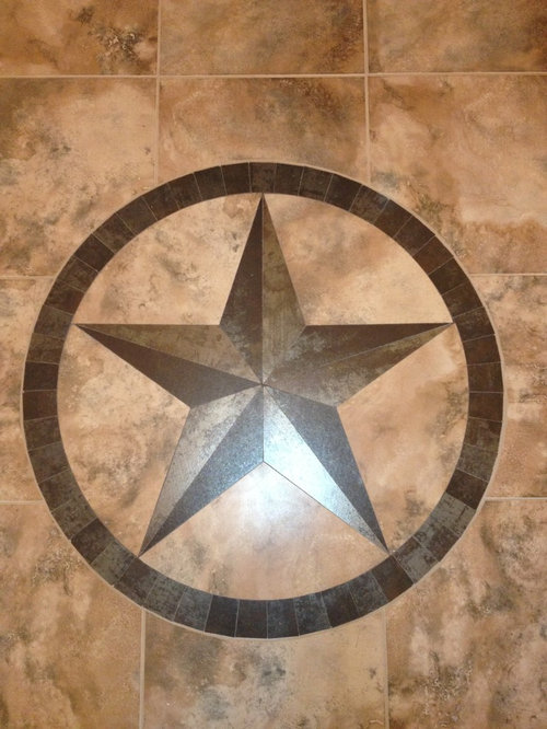 Texas Star Medallion Home Design Ideas Pictures Remodel