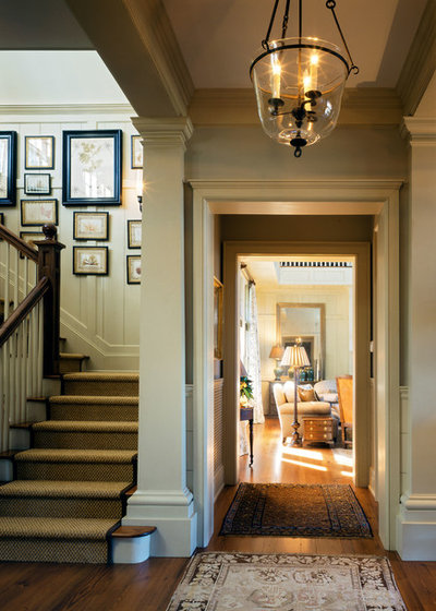 Traditional Entry by Mark P. Finlay Architects, AIA