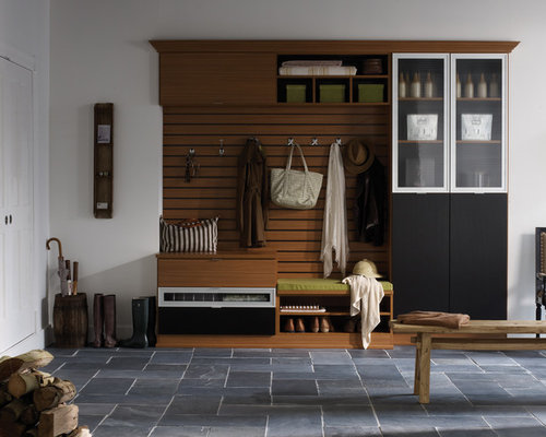 Contemporary Mudroom Houzz