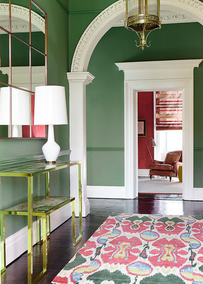 Transitional Entry Eoin Lyons Interiors, Ranelagh, Dublin.