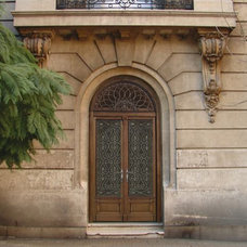 Mediterranean Entry by AMIGHINI Home Decor and Architecturals